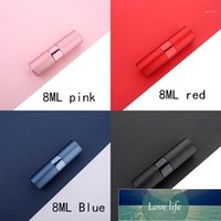 Storage Bottles & Jars 8ML 10ML 15ML 20ML Portable Mini Aluminum Refillable Spray Perfume Bottle Empty Cosmetic Containers Atomizer For Trav Factory price expert