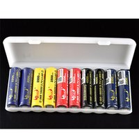 1ピー透明10x18650オーガナイザー容器18650収納ボックスハードケースカバー電池ホルダーエレクトロニクス