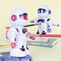 로봇 연필 셰이퍼 연필 깎이 펜 나이프 어린이 연필 깎이 학교 용품 문구