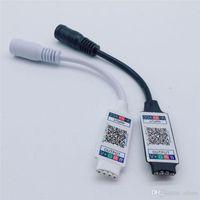 WiFi Mini RGB Bluetooth контроллер DC 5V 12V 24V мини-музыкальный контроллер Bluetooth контроллер света для RGB RGBW светодиодная полоса