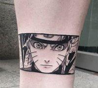 Tatouages temporaires faux tatouage autocollant dessin animé anime boy tatouchon bras bras bras arts tatouages tatouages étanches pour filles femmes hommes