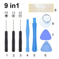 9 in 1 Repair Pry Opening Tools Kit Tool FOR Cell phone iPhone 4s 5 6 6P 300sets
