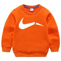 Hoodies Girls2-8 Years Old Pullover Sweatshirts For Boy Child clothes Oversized Hoodie Anime Cotton