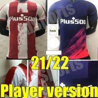 21 22 Player Atlético Fútbol Madrid Jerseys Versión Joao Felix Camisetas de Fútbol Suárez Correa Jersey 2021 2022 Camisa de Fútbol