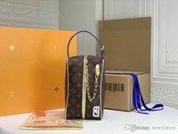 Cloakroom DOPP Kit Poche Toilette M45588 حصري أصعب قطعة واحدة للحصول على حقيبة يد الحجم: 28 × 16 × 13 سم