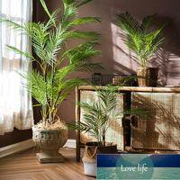 Grinaldas 125cm Plantas de Palma Tropicais Grandes Grandes Ramos Artificiais de Árvore Plástico Folhas Falas Folhas Verde Monstera para Home Garden Sala Decoração Escritório