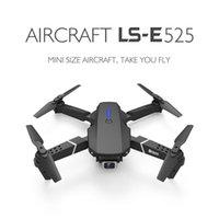 DRONE LS-E525 DRONE 4K HD Doppellinse Mini DRONE WIFI 1080P Echtzeitübertragung FPV-Drohnen Dual-Kameras Faltbarer RC-Quadkopter Dysoon