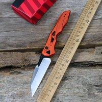 새로운 7650 출시 13 접이식 나이프 CPM-154 블레이드 알루미늄 과일 나이프 핸들 야외 사냥 EDC 캠핑 도구