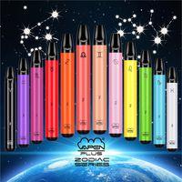 Authentic VAPEN PLUS 800 Puffs Disposable Vape Pen E-Cigarettes Kits 550mAh Battery 3.5ml Capacity Zodiac Edition eCigs Portable Pods Vaporizers Pre-Filled Bar Vapor