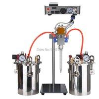 Glue Guns 36AB Semi-automatic Dispenser A B Mixed Liquid Dispensing Stainless Steel Storage Epoxy Resin Tank