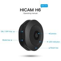 H6 HD WiFi Caméra 1080p IP IP Out Outdoor IR Night Vision Caméra Détection de mouvement Sport DV Portable Vélo Caméra Mini DVR Accueil Sécurité Cam