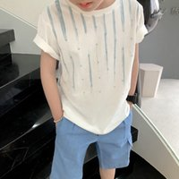 2021 free shipping boys girls short sleeve t-shirts clothes kids cotton summer tops t-shirts clothing boys girls solid tees tops