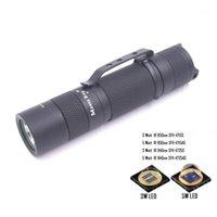 Фонарические фонари горелки Manta Ray S1 Black IR 850nm 940nm светодиодный факел Oslon 3W 5W серии внутри ночного видения функция 14500 Torch1