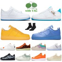 2021 Dames Heren N354 Running Schoenen Air Force One LX UV Reactive Hare Space Jam Wit Univeristy Gold MCA Blue Shadow Black Off Light Bot Airforce 1 Trainers Sneakers