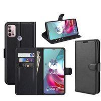 Motorola G 5G Plus G30 G10 Folio PU 지갑 가죽 플립 커버 케이스 모토 G5 플러스