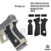 2 PZ HQ Pistol Grip antiscivolo Trama di gomma Anti-Indossare Pellicola Protettiva Pellicola Protezione per Glo CK G17 G19 G26 G43 Accessori Series Series MODELLO GRATUITO