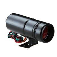 أضواء الطوارئ قابل للتعديل الدوران مقياس سرعة الدوران 1K-11K RPM Tacho قياس الألومنيوم التحول الضوء الأزرق / الأحمر الصمام السطح الأسود