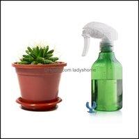 Jars Storage Housekee Organization Home & Garden10Pcs Spray Bottle Plastic Trigger Container Bottles Diy Empty Watering Pump Atomizer Green