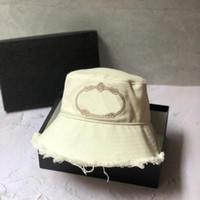 Şapka ilkbahar yaz moda balıkçı şapka kadın güneş koruyucu mavi beyaz kapak mektubu