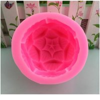 Ароматерапия Свеча Sile Flush 3D Лотос Цветок Форма Мыло Слой Форма DIY Свеча Форма Мыло Форма Торт Украшение Цилсфе