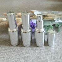 Depolama Şişeleri Kavanoz 10 ml 15ml 20 ml 30 ml Gümüş Altın Cam Sprey Şişe UV kaplama Emülsiyon Parfüm Esansiyel Yağ Ambalaj Şişesi, 20 Pacge