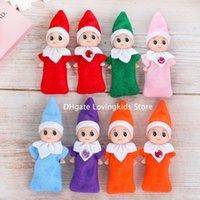 10 шт. Рождественские детские эльф куклы детские эльфы игрушки мини эльф рождественские украшения кукла детские игрушки подарки маленькие куклы