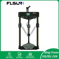 US EU Stock FlsUn® Q5 3D 프린터 키트 200 * 200mm 인쇄 크기 Supprt 재개 TFT 32bit 메인 보드 / TMC2208 슬라이언트 드라이버 / 다채로운 터치 스크린