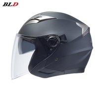 Motorradhelme Erwachsene Helm Safety Unisex Windschutzscheibe Roller Motor Elektrische Motorrad Öffnen Gesicht Flip Up Road