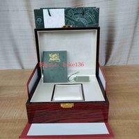 Fashion Watch Original Box Papers Wood Festival Presentkartonger Handväska Använd 15400 15710 15703 26703 26470 15202 3120 3126 7750 Klockor