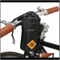 Fahrrad-Lenker-Stamm-Tasche Lebensmittel-Snack-Speicher-Wasser-Flaschen-Bikepacking-Fahrrad-Tasche Touring-Pendel-isolierter Beutel VS45M O24L8