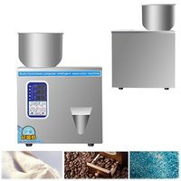 Particle Powder Filling Machine 1-200g Automatic Metering Packing Machine Intelligent Tea Grain Weighing