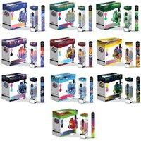 Vcan Honor Pro 2 em 1 original e cigarro descartável vape caneta recarregável bateria 5000 sopros cigarros 10 cores