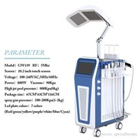 2021 Skin Care Led Hydra Lights Oxygen Whitening Microdermabrasion Facial Machine