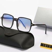 Schöner quadratischer Rahmen SUANGLASS Damen Herren Sonnenbrillen Die hellen Farblinsen UV380 Brillen Männer Sommerbrillen mit Kasten
