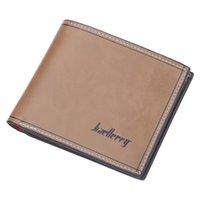 Baellerry عارضة الرجال المحفظة جودة عالية لا السوستة قصيرة الرجال محافظ إلكتروني الفاخرة محفظة الذكور مع حامل البطاقة carteira