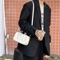 Effects Color Pu Leather Women Small Square Shoulder Crossbody Tasks Fashion Design Ladies Underarm Bag Female Dead Handbag