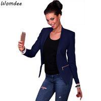 Women's Suits & Blazers 2021 Plus Size Womens Business Spring Autumn All-match Women Jackets Short Slim Long-sleeve Blazer Suit