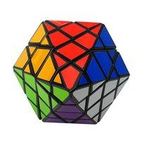 Nuovissimo Diansheng 8-Corner-only ottagonale piramide di dipyramid 4x4 forma modello magico cubo di puzzle giocattoli per bambini felice labirinto di ciliegio