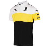 Nuevo traje de carreras Camisa de polo de manga corta Poliéster Secado rápido Knight Sapa Camiseta Motocicleta Jersey Secado rápido de manga corta Mismo estilo