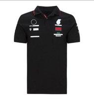 2020 Summer Nouvelle costume de course de moto Polo Chemise à manches courtes T-shirt à manches courtes Polyester Séchage rapide Jersey Jersey T-shirt T-shirt Polo T-shirt Polo
