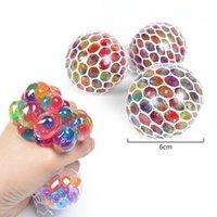 6,0 cm tamanho grande monsha colorida esferográfica bola de uva fidget brinquedo anti estresse espremer bolas espremer brinquedos descompression ansiedade