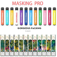 Maskking High Pro Mk Vapes Us / Russia Version Одноразовый Vape Pod Device E-Cigarette Starter Kit PK Air Bar Lux GT Bang Puff XXL
