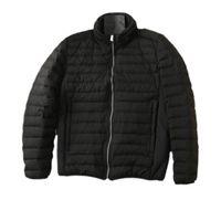 topstely 20fw homme hiver chauffé amovible down jacket homme décontracté goose branchée veste noire buffer veste