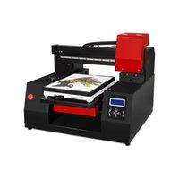 الطابعات التلقائي A3 + UV طابعة مسطحة DTG مع آلة رأس الطباعة مزدوجة هوديس ل ملابس الزى