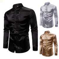 S XXL Designers Mens Polo Shirt Us size Men Clothing 2021 Cardigan Polyester (polyester) Button Up Collared Tshirt Homme Luxurys Camisas De Hombre Dress VG080