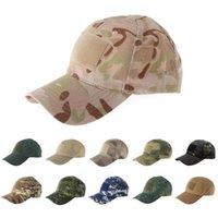 Berretti a sfera estate tattico tattico tappo regolabile cappello da baseball protetti da baseball cappelli camuffamento per caccia camping Attività all'aperto