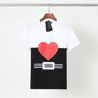 Sıcak 2021 Yeni Mens Bayan Tasarımcıları T Gömlek Moda T Shirt Adam Sokak Tasarımcısı Şort Kol Tişörtleri Leopar Baskı