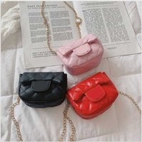 2021 Sale New Baby Hot Girls Princess Bags Leather Kids Shoulder Bags Children Purses Child Wallet 3 Colors