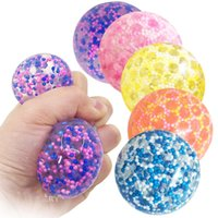 Colorful Tangle Fidget Toys Gorbbles Manija antiestrés Bolas de estrés Sticky Soft Relleno Toys Squishy Ansiedad Figete Sensor Juguete