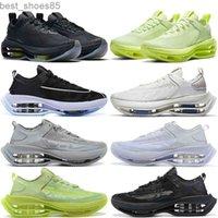 2021 Zoom Zooms أحذية مزدوجة مكدسة الرجال النساء في الهواء الطلق المدربين بالكاد فولت أسود رمادي رجل إمرأة الرياضة أحذية رياضية 36-45
